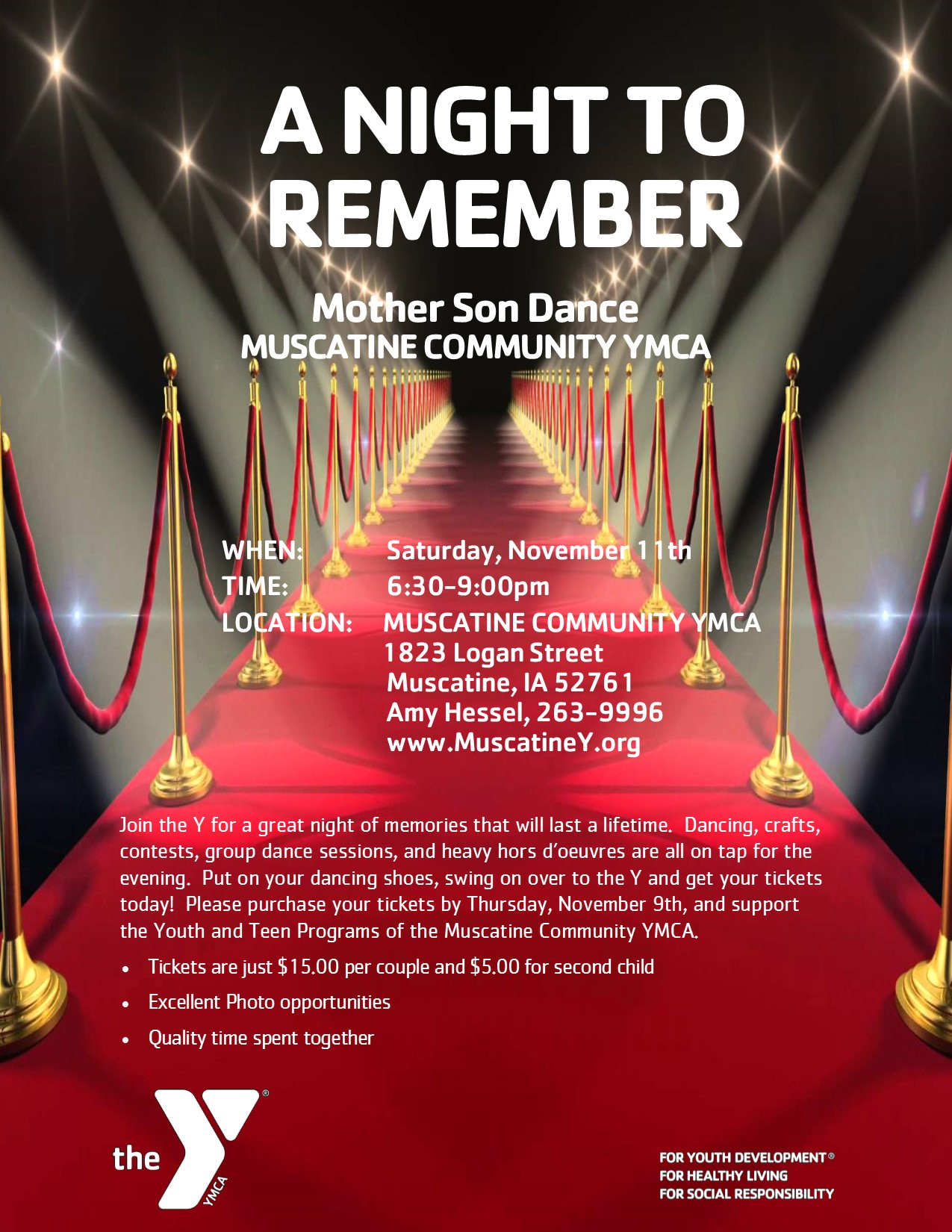 2017 mother son dance at the y