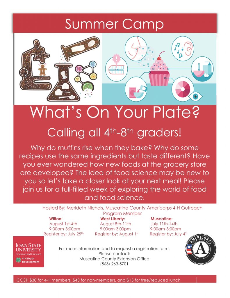 Flyer- What's On Your Plate