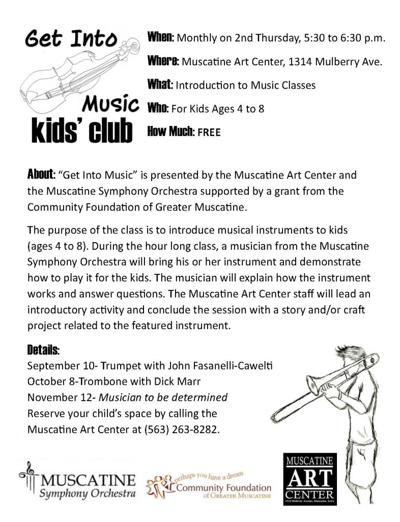 Get Into Music Flyer for Schools  Fall 2015