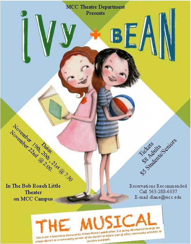Ivy + Bean Poster for virtual backpack 8.5 x 11