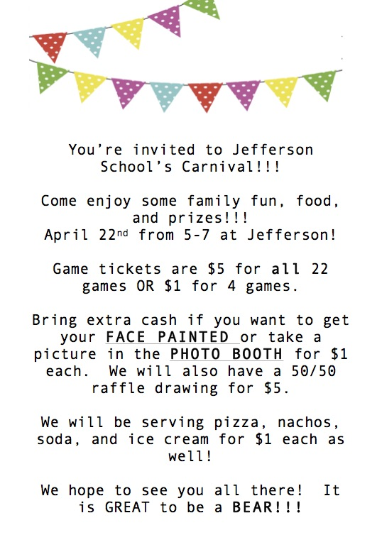 Jefferson Carnival Invitation