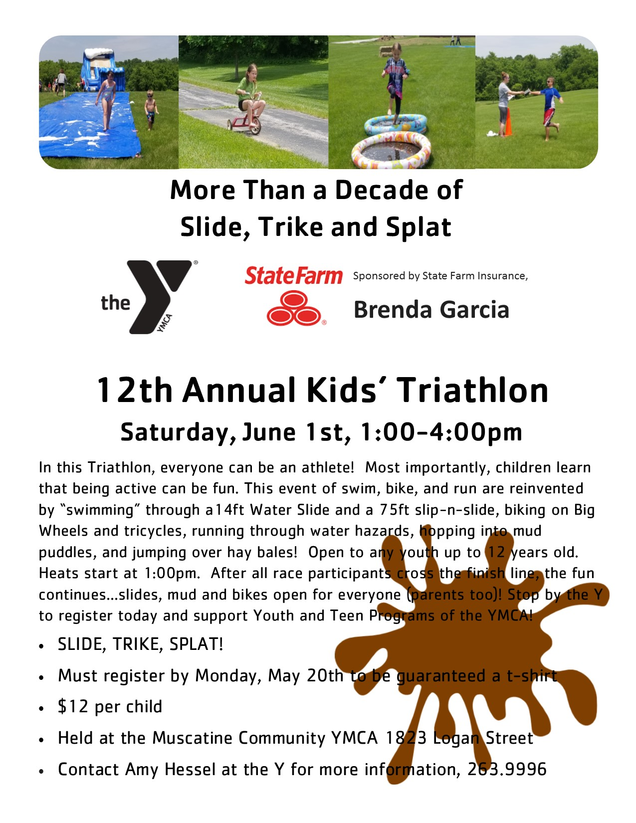 Muscatine Y's 12th Annual Kids Triathlon! - Muscatine