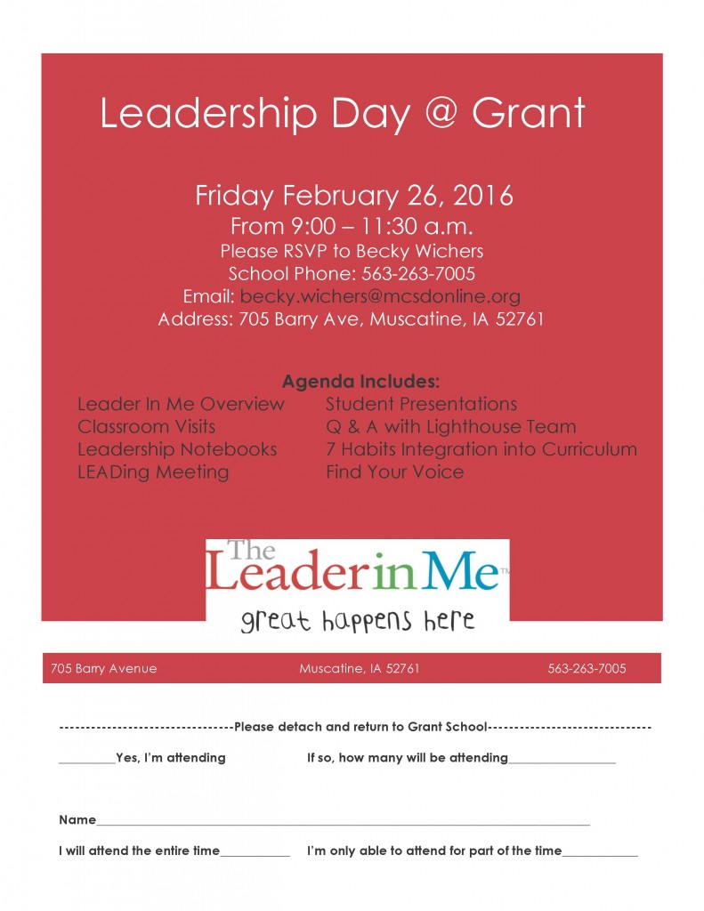 Leadership Day Flyer 2015