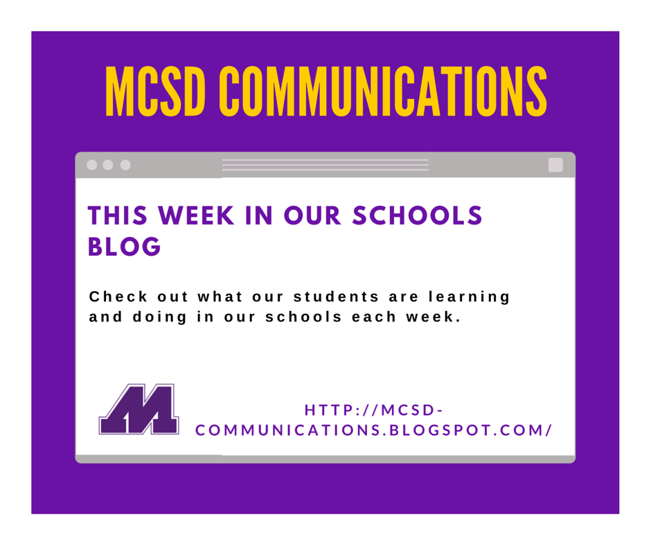 MCSD COMMUNICATIONS BLOG - FB