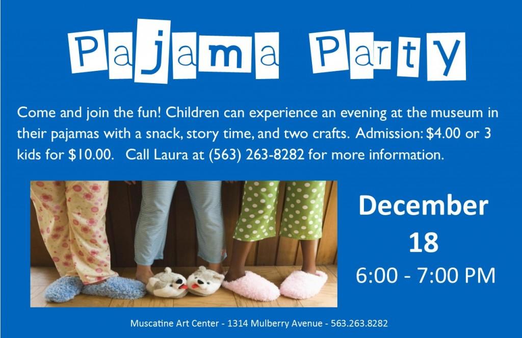 Pajama Party December 18 2015