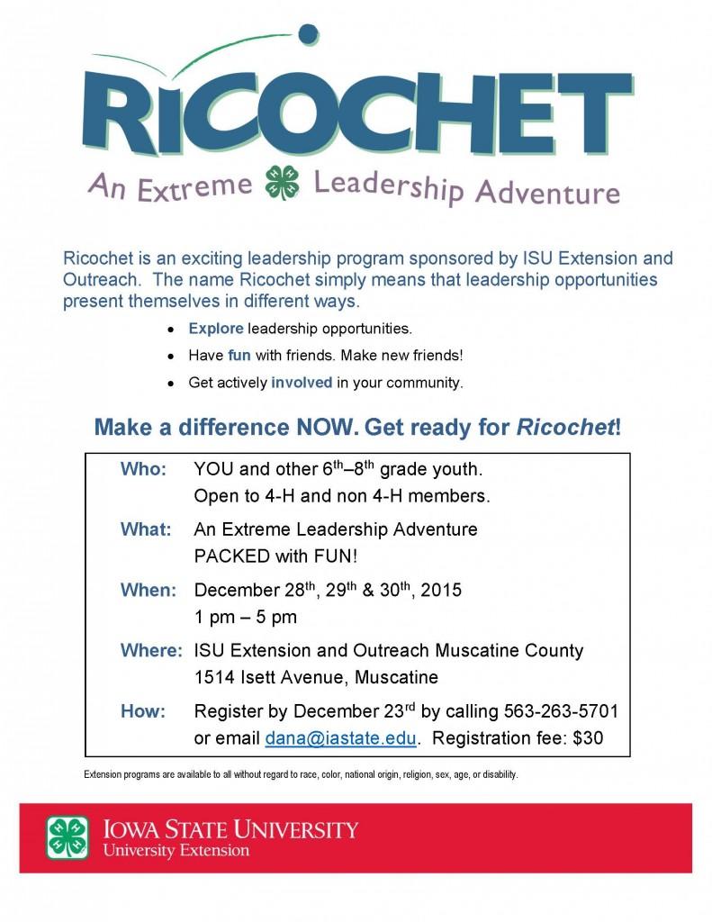 RicochetFlyer12-15