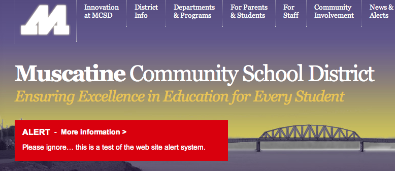 School Closings, Delays, and Alerts - Muscatine Community