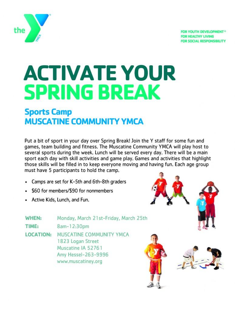 Sports Camp Flier