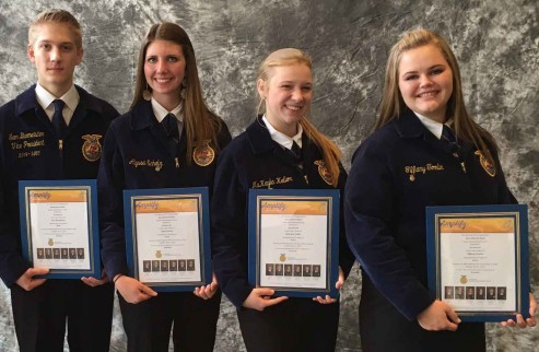 National Champion FFA AG Sales Team